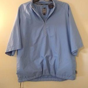 Sun Ice Short Sleeve Quarter Zip Rain Jacket